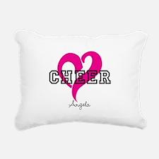 Love Cheer Heart Rectangular Canvas Pillow