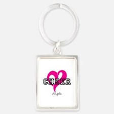 Love Cheer Heart Keychains