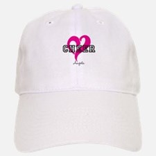 Love Cheer Heart Baseball Baseball Baseball Cap
