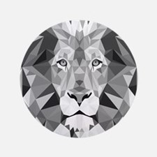 Gray Lion  Button