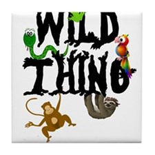 Wild Thing Tile Coaster