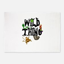 Wild Thing 5'x7'Area Rug