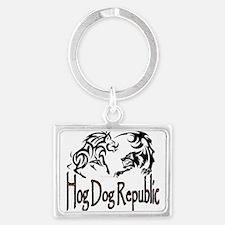 Hog Dog Republic Keychains