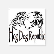 Hog Dog Republic Sticker