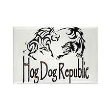 Hog Dog Republic Magnets