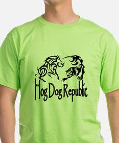 Hog Dog Republic Value T-Shirt - Front Logo