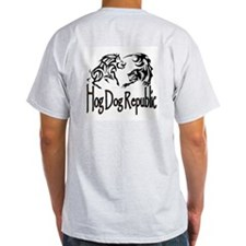 Hog Dog Republic T-Shirt - 2 Sides