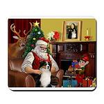Santa's Ausie Mousepad