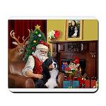 Santa's Bernee Mousepad