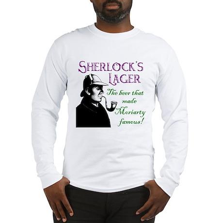 Sherlock's Lager Long Sleeve T-Shirt