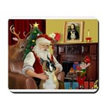 Santa's Boxer Mousepad