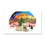 XMusic2-Cairn Terrier (#4) Rectangle Car Magnet