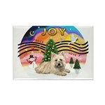 XMusic2-Cairn Terrier (#4) Rectangle Magnet (10 pa