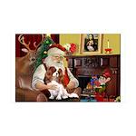 Santa's Cavalier 35x21 Wall Decal