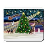 XmasMagic/Chinese Crested Mousepad