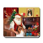 Santa's Collie Mousepad