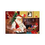Santa's Coton 35x21 Wall Decal