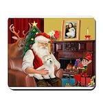 Santa's Coton Mousepad