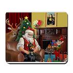 Santa's Dobie Mousepad