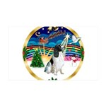 XmasMusic 3/Eng Springer #8 35x21 Wall Decal