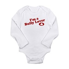 Unique Bully breed Long Sleeve Infant Bodysuit