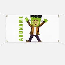 Halloween Green Goblin Personalized Banner