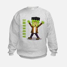 Halloween Green Goblin Personalize Sweatshirt