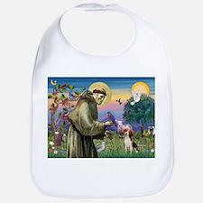 St Francis / Beagle Bib