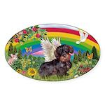 Rainbow Bright / Dachshund (w Sticker (Oval 50 pk)