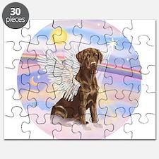 ORN - Clouds - Lab Angel (Choc) Puzzle