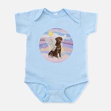 ORN - Clouds - Lab Angel (Choc) Infant Bodysuit
