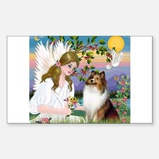 Angel (#2) & Sheltie Decal