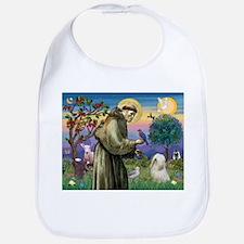 St Francis /Tibetan Terrier Bib
