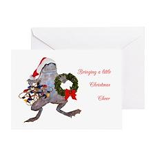 Christmas Frog Greeting Card