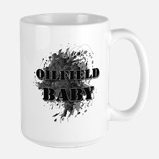 Oilfield Oil Splash Baby Large Mug