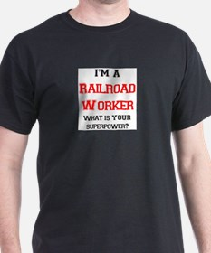 railroad worker T-Shirt
