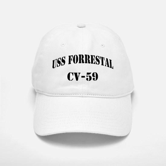 USS FORRESTAL Baseball Baseball Cap