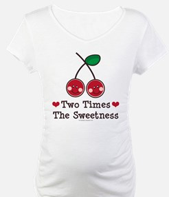 Doubly Sweet Cherry Twin Shirt