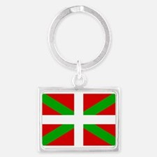 Basque Flag Landscape Keychain