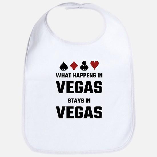 What Happens In Vegas Stays In Vegas Bib