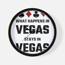 What Happens In Vegas Stays In Vegas Wall Clock