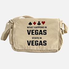 What Happens In Vegas Stays In Vegas Messenger Bag