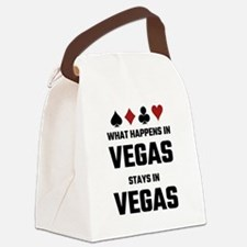 What Happens In Vegas Stays In Ve Canvas Lunch Bag
