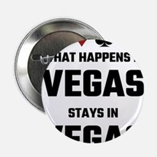 """What Happens In Vegas Stays 2.25"""" Button (10 pack)"""