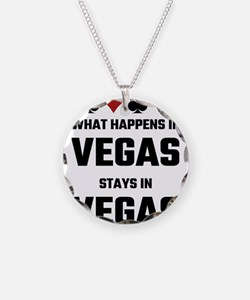 What Happens In Vegas Stays Necklace