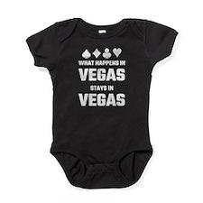 What Happens In Vegas Stays In Vegas Baby Bodysuit