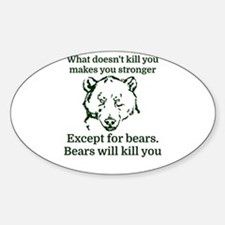 What doesn't kill you make you stronger Decal