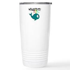 Whaled It! Travel Mug