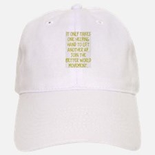 One Helping Hand Baseball Baseball Baseball Cap