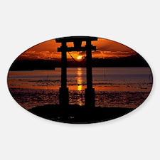 Asia Sunset Decal
